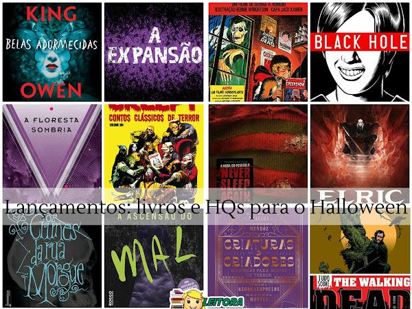 Dicas de leitura: Lançamentos em livros e quadrinhos para o Halloween