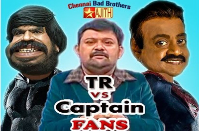 TR vs Vijayakanth Marana Kalaai in Neeya Naana & Vijay Awards Spoof Video | Chennai Bad Brothers