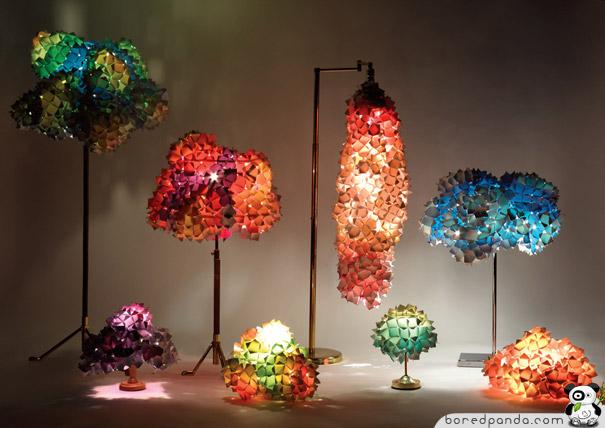 Diseño de lámparas creativas