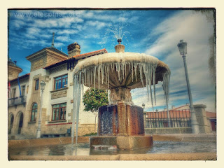 Fuente de la Plaza de la Constitución  (El Espinar)