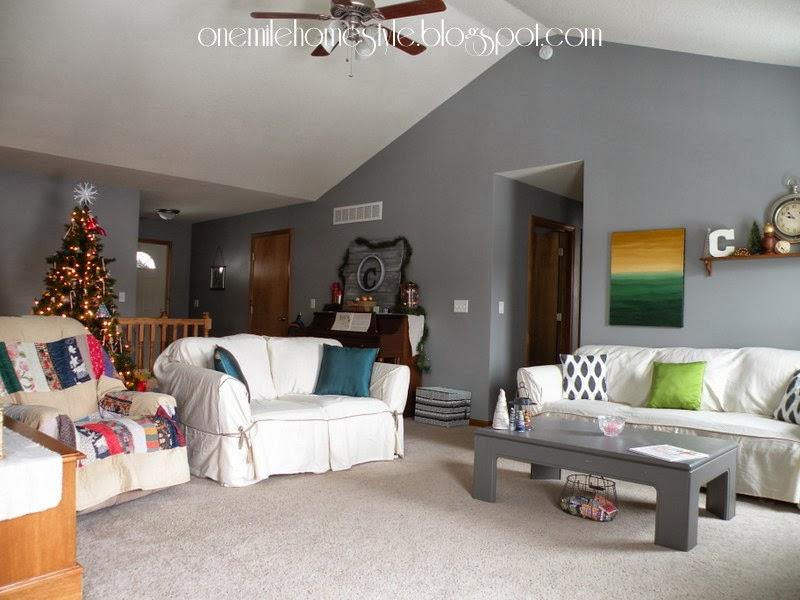 Granite Grey Living Room