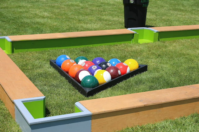 Event game giant billiards