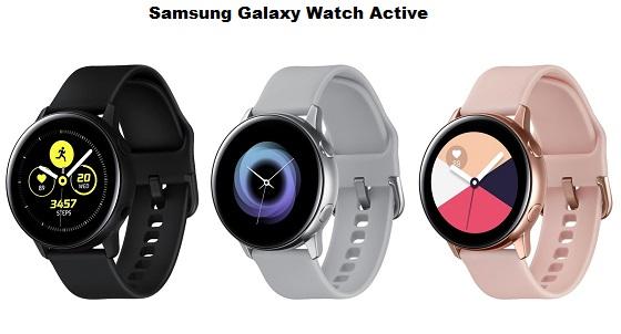 مميزات وسعر ساعة سامسونج الجديدة 2019  Galaxy Watch Active