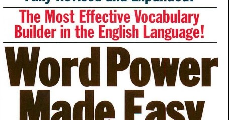 Word Power Made Easy By Norman Pdf