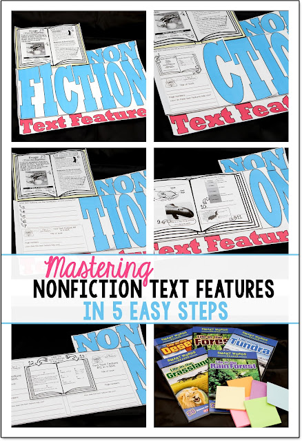 This Nonfiction Text Features Flip Flap Book is engaging and fun. Your students will master this skill in no time using this tool!