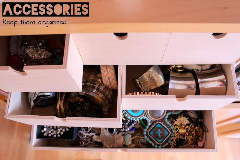 LIFESTYLE | ACCESSORIES, KEEP THEM ORGANIZED