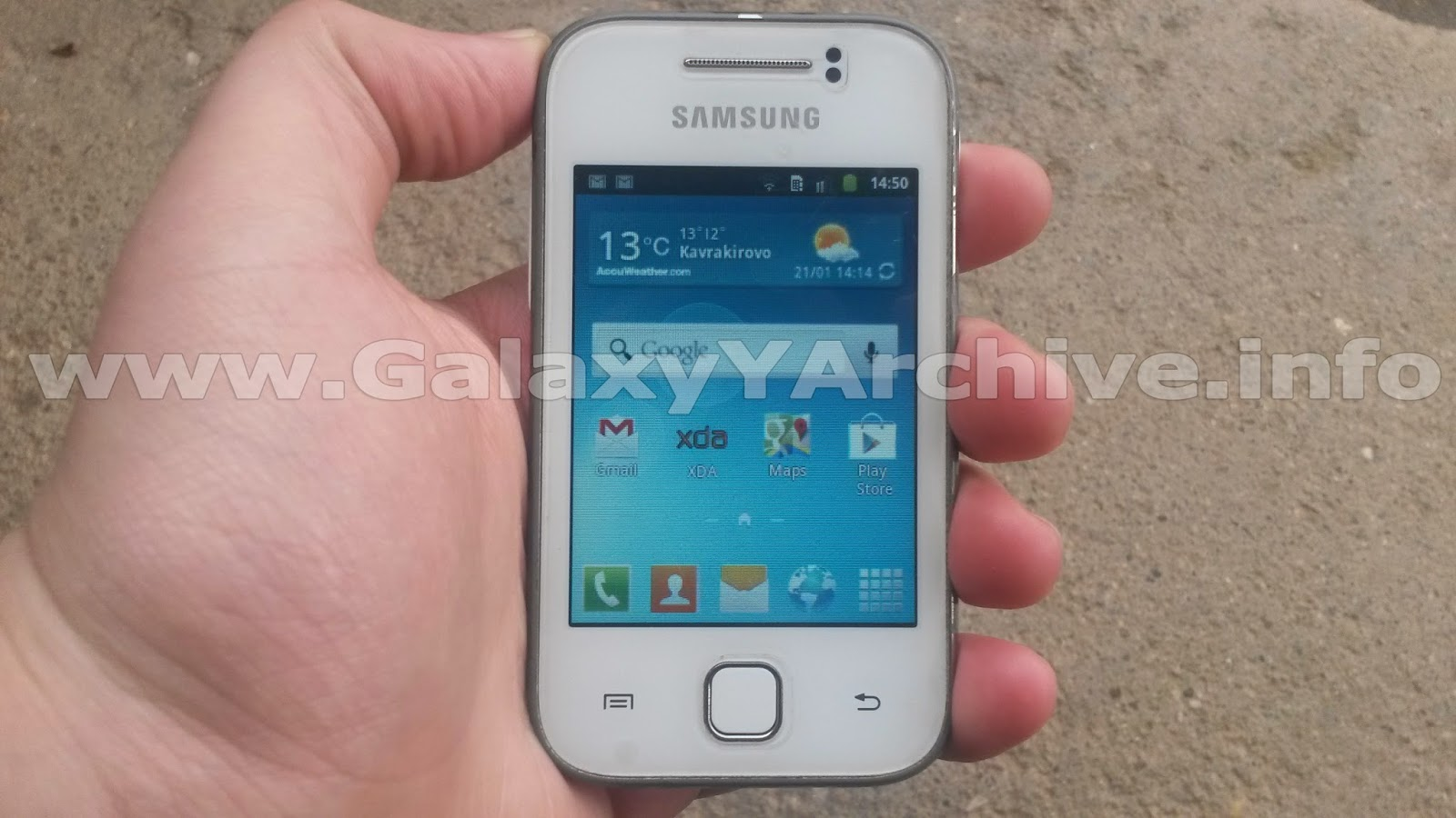 Note 3 Launcher for Galaxy Y GT-S5360 - Samsung Galaxy Young