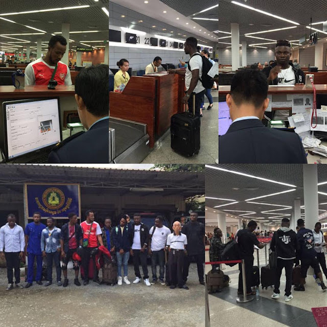 Cambodia deports 10 Nigerians over immigration and other criminal offenses