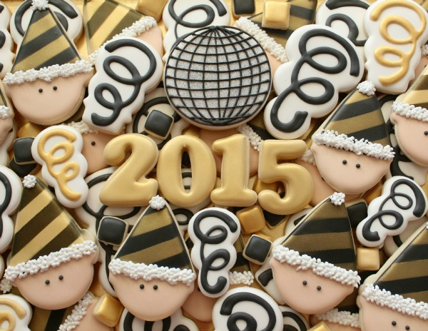 11 FANTASTIC New Year's Eve Cookies