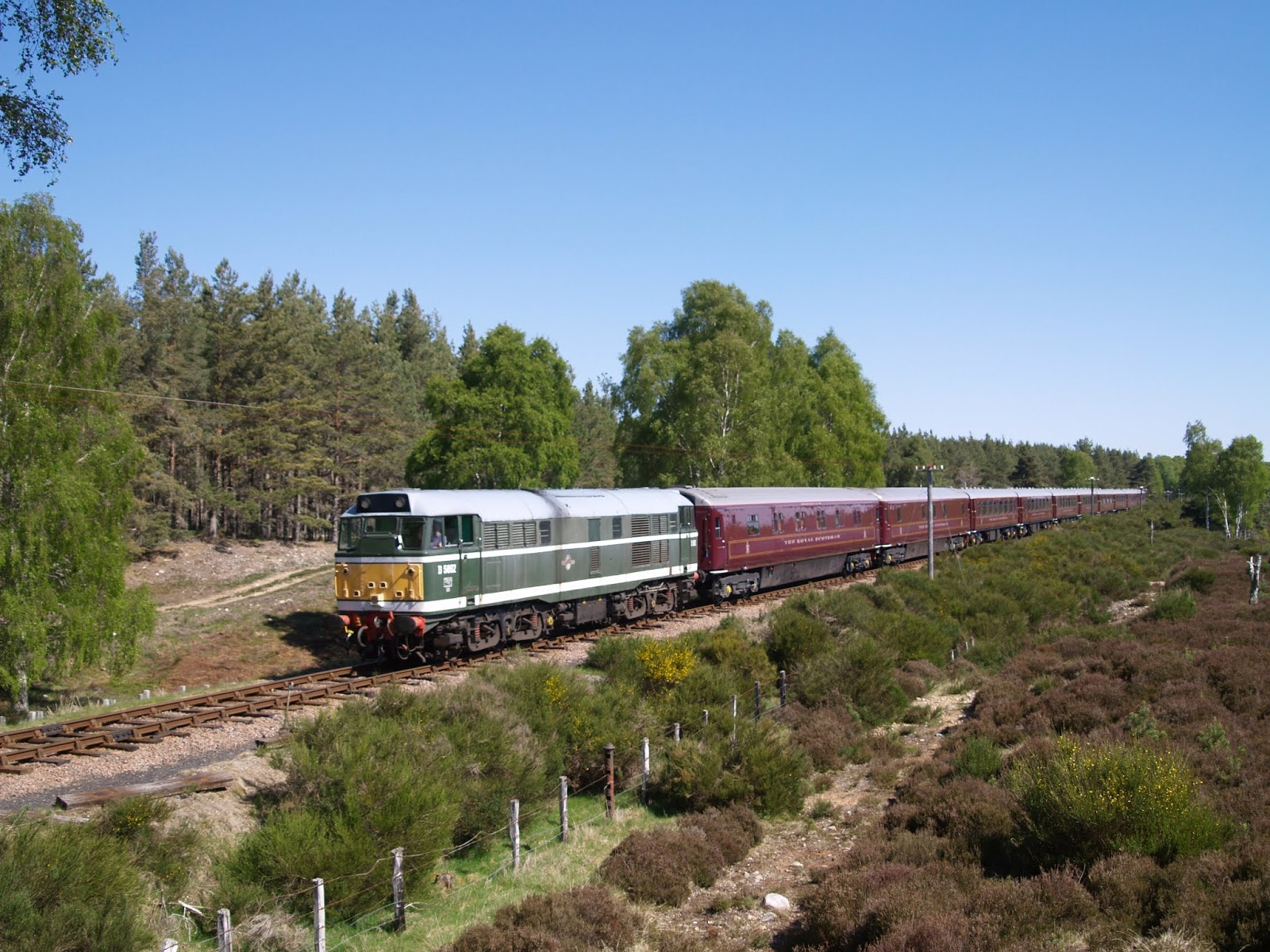 On Track at the Strathspey Railway