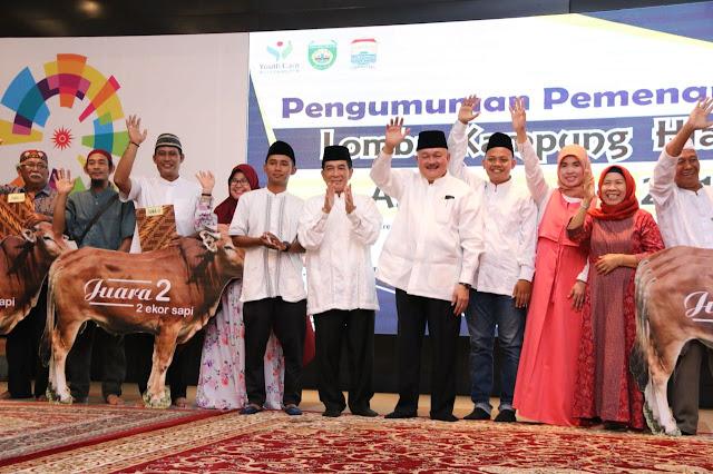 Kampung Cempaka Dalam Juarai Lomba Kampung Hias Asian Games 2018