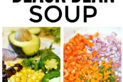 Spicy Vegan Black Bean Soup Recipes