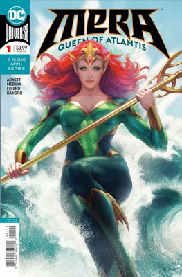 "Preview de la nueva serie ""Mera: Queen of Atlantis"" de Dan Abnett - DC Comics"