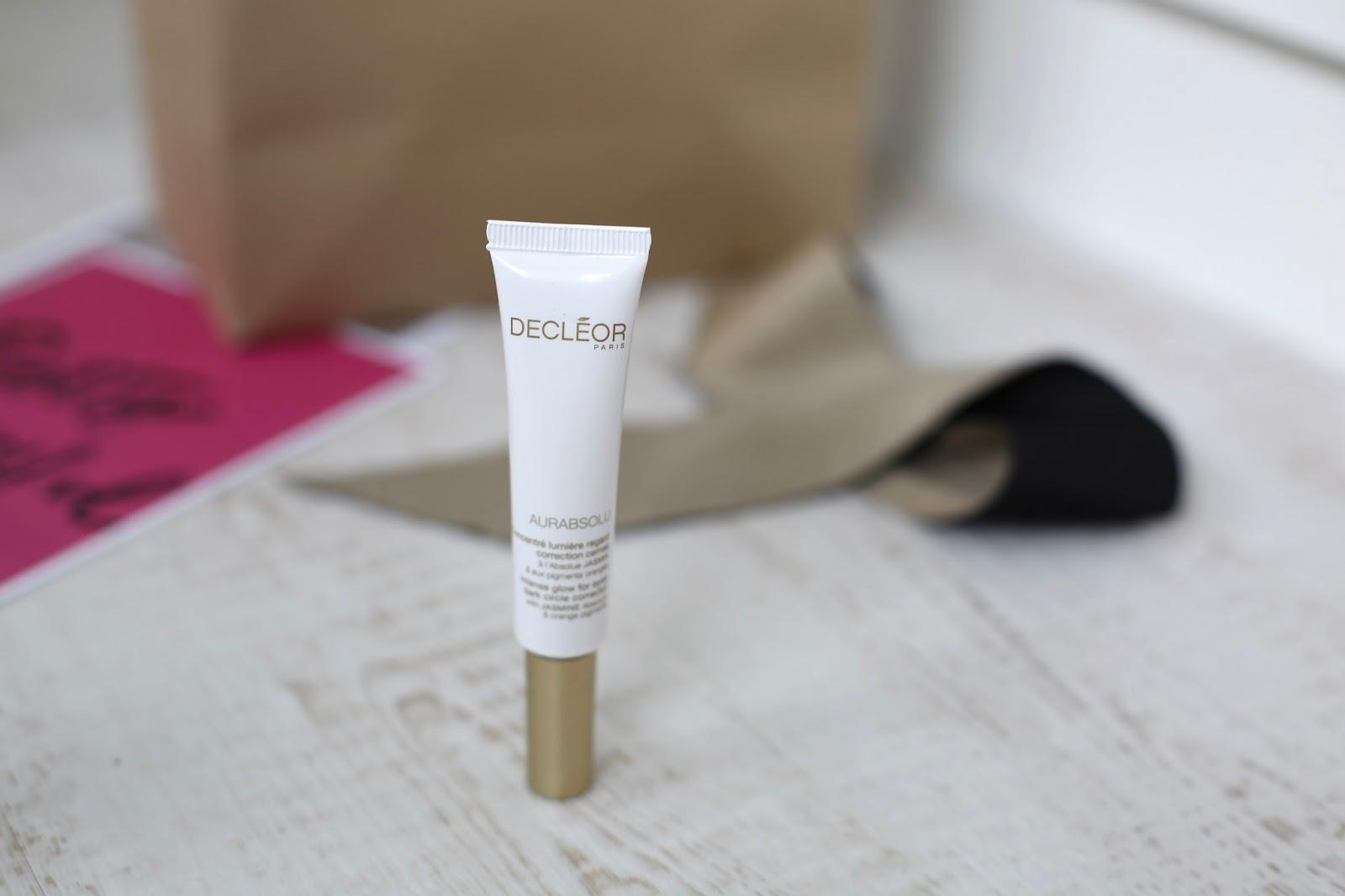 decleor eye cream