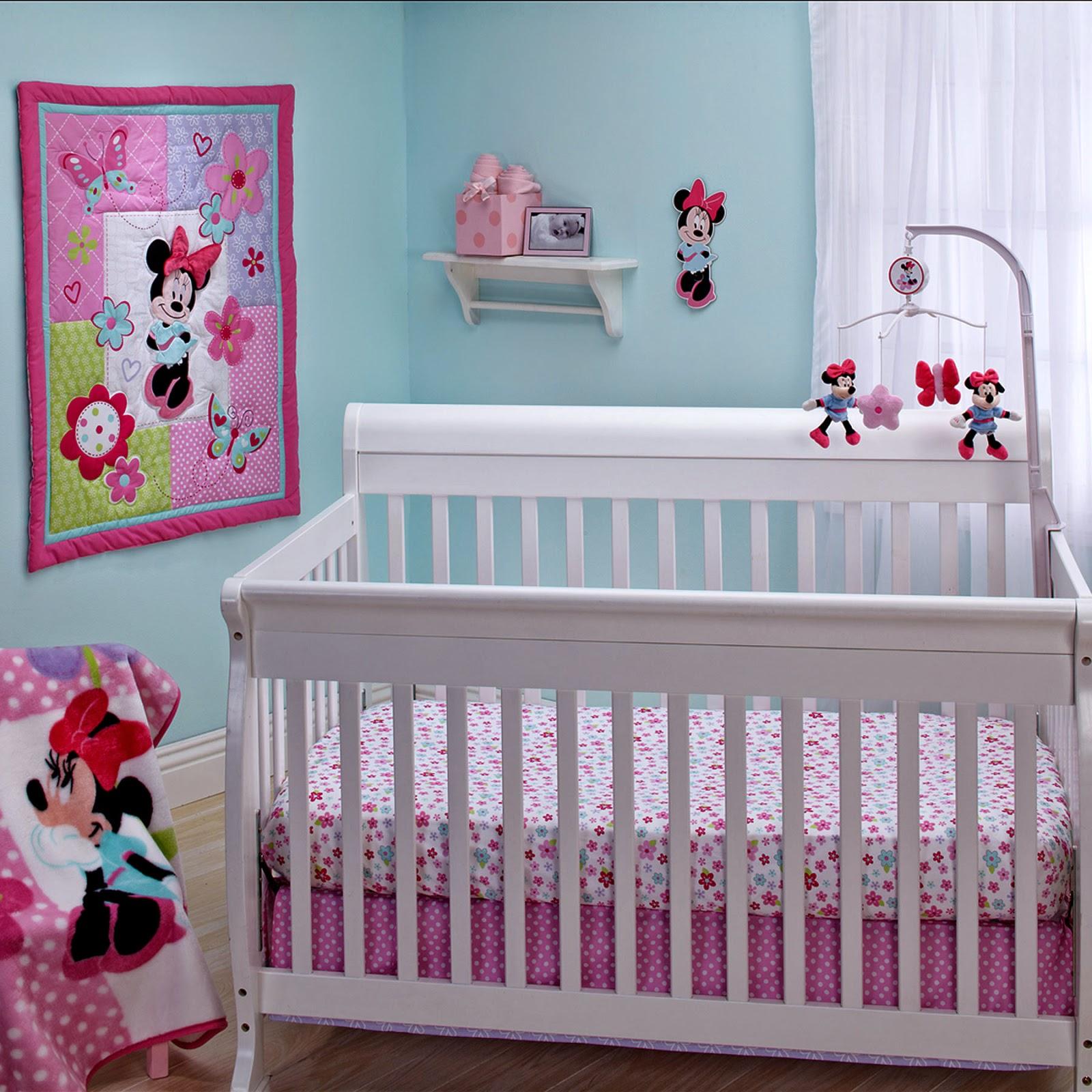 Dormitorios para beb s tema minnie dormitorios colores y for Habitaciones infantiles disney