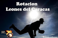 Cronicas Leones del Caracas Rotacion Semanal  LVBP...