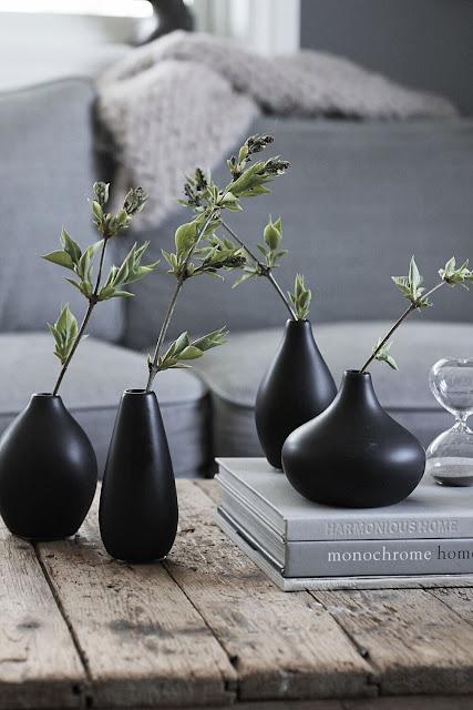 annelies design, webbutik, webshop, nätbutik, vas, vaser, vardagsrum, vardagsrummet, dekoration, svart, svarta,