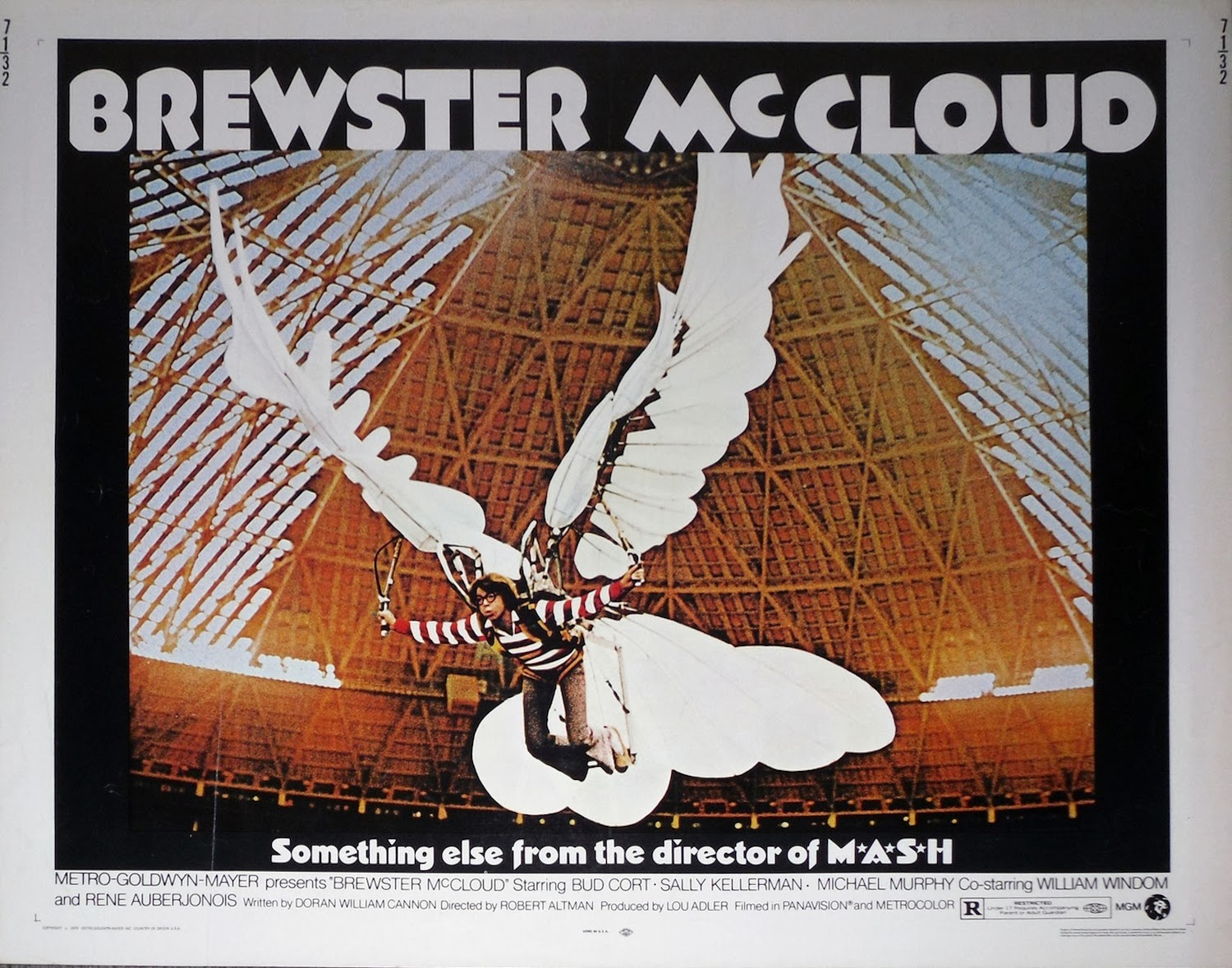 best website e168f fffe6 Brewster McCloud is a 1970 experimental film directed by Robert Altman. It  concerns a young recluse (Bud Cort, as the title character) who lives in a  ...