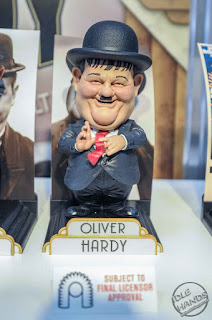 Toy Fair 2018 Big Chief Studios Laurel and Hardy Figures