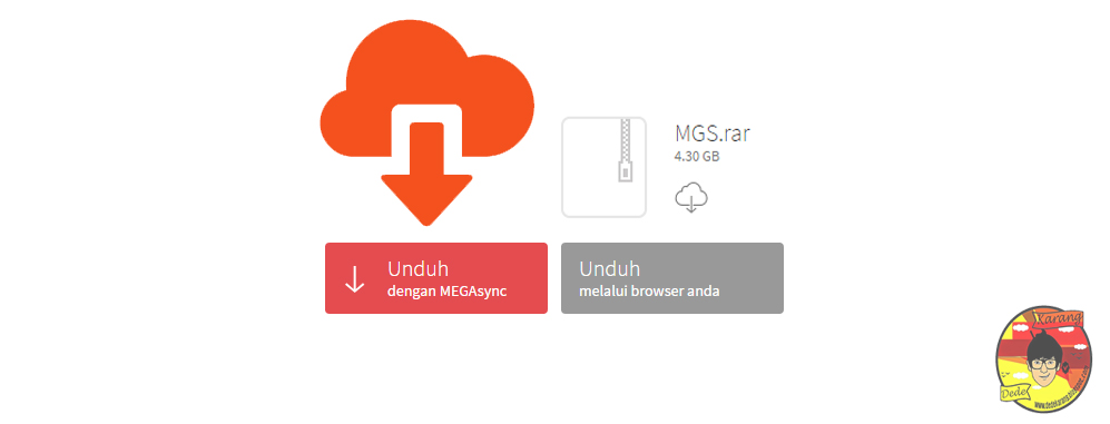 Cara Download File Mega co nz Menggunakan Internet Download