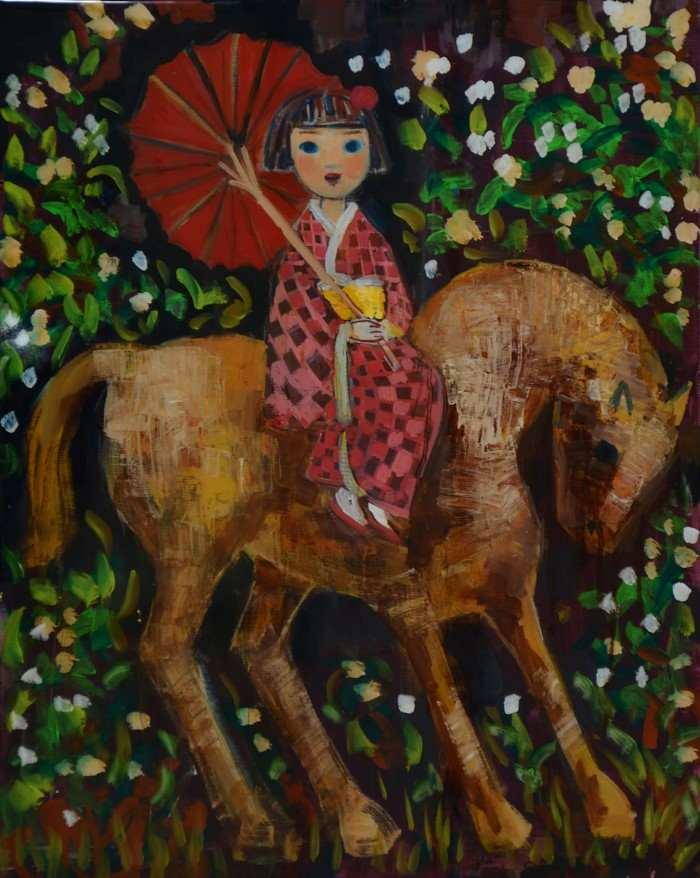 Фигуративные картины. Rimi Yang