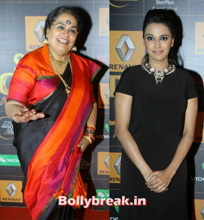 Usha Uthup, Swara Bhaskar, Star Guild Awards 2014 Pictures