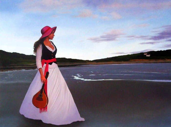 Элегантность в живописи. Michael de Bono 21