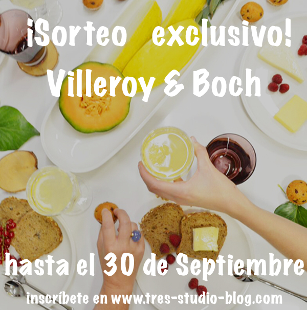 ��LTIMOS D�AS PARA APUNTARSE AL SORTEO DE VILLEROY&BOCH!