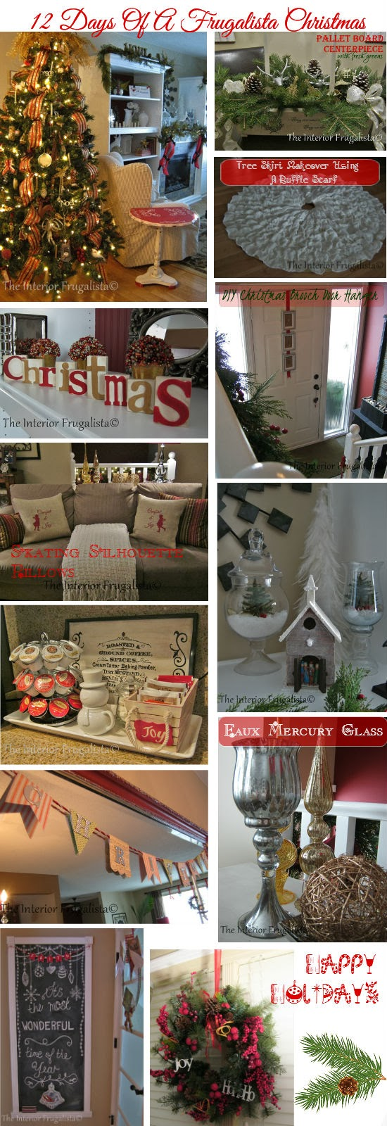 12 easy and inexpensive holiday decorating ideas