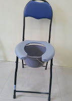 Commode With Padded Seat