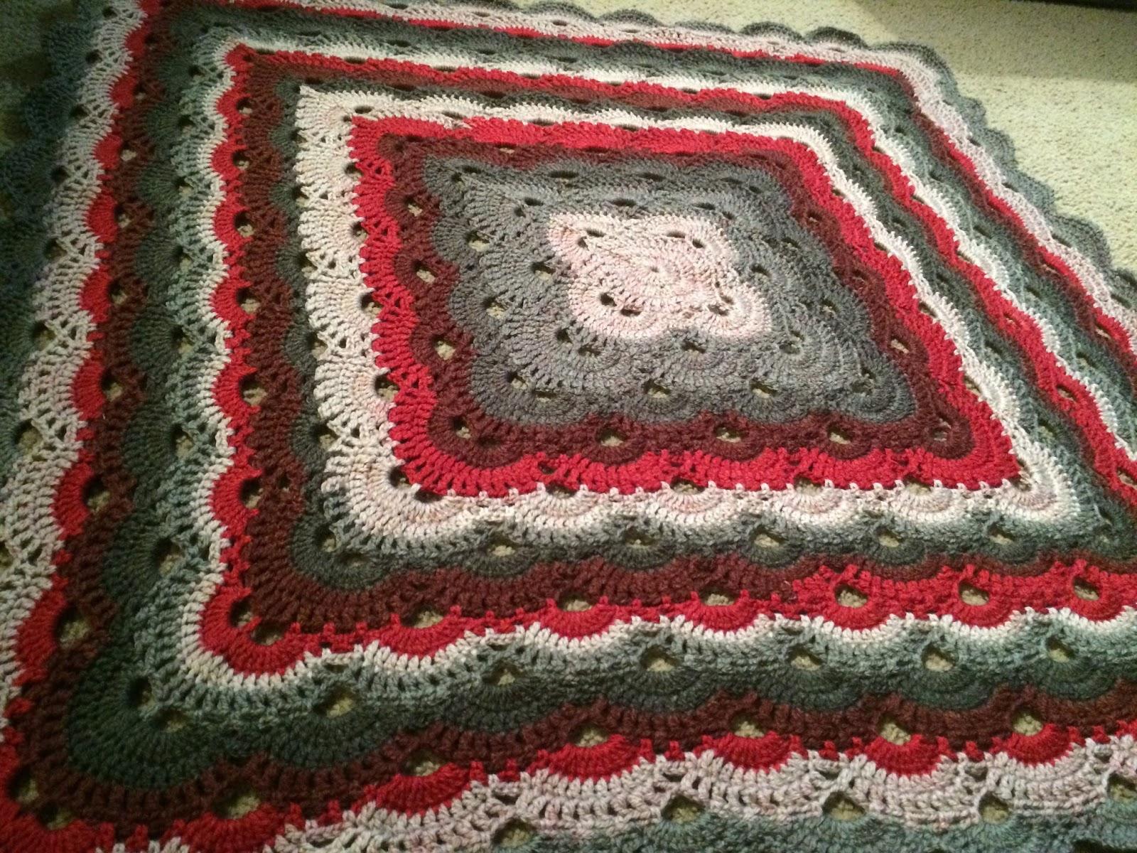 Crochet Baby Blanket Caron Cakes