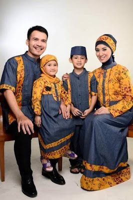 baju couple keluarga 2 anak