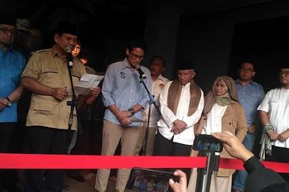 Prabowo: TNI-Polri, Janganlah Sekali-kali Tembak Rakyat Sendiri