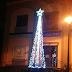 Pontelatone, il più racchio albero di Natale delle piazze d'Italia