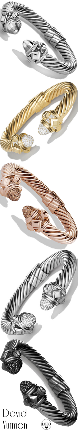 David Yurman Assorted Bracelets