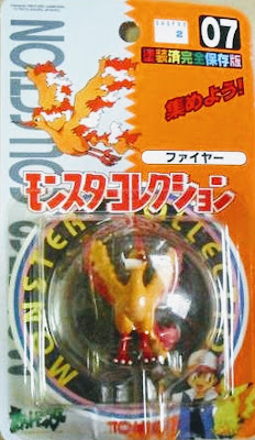 Moltres  figure Tomy Monster Collection series