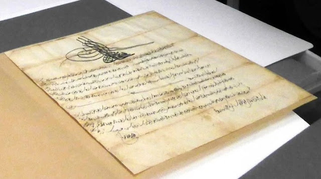 British Library returns historic documents stolen from Greek monastery