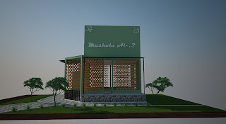 nama dan bentuk baja ringan jasa desain bangunan: mushola