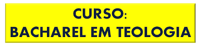 CURSO BACHAREL TEOLOGIA