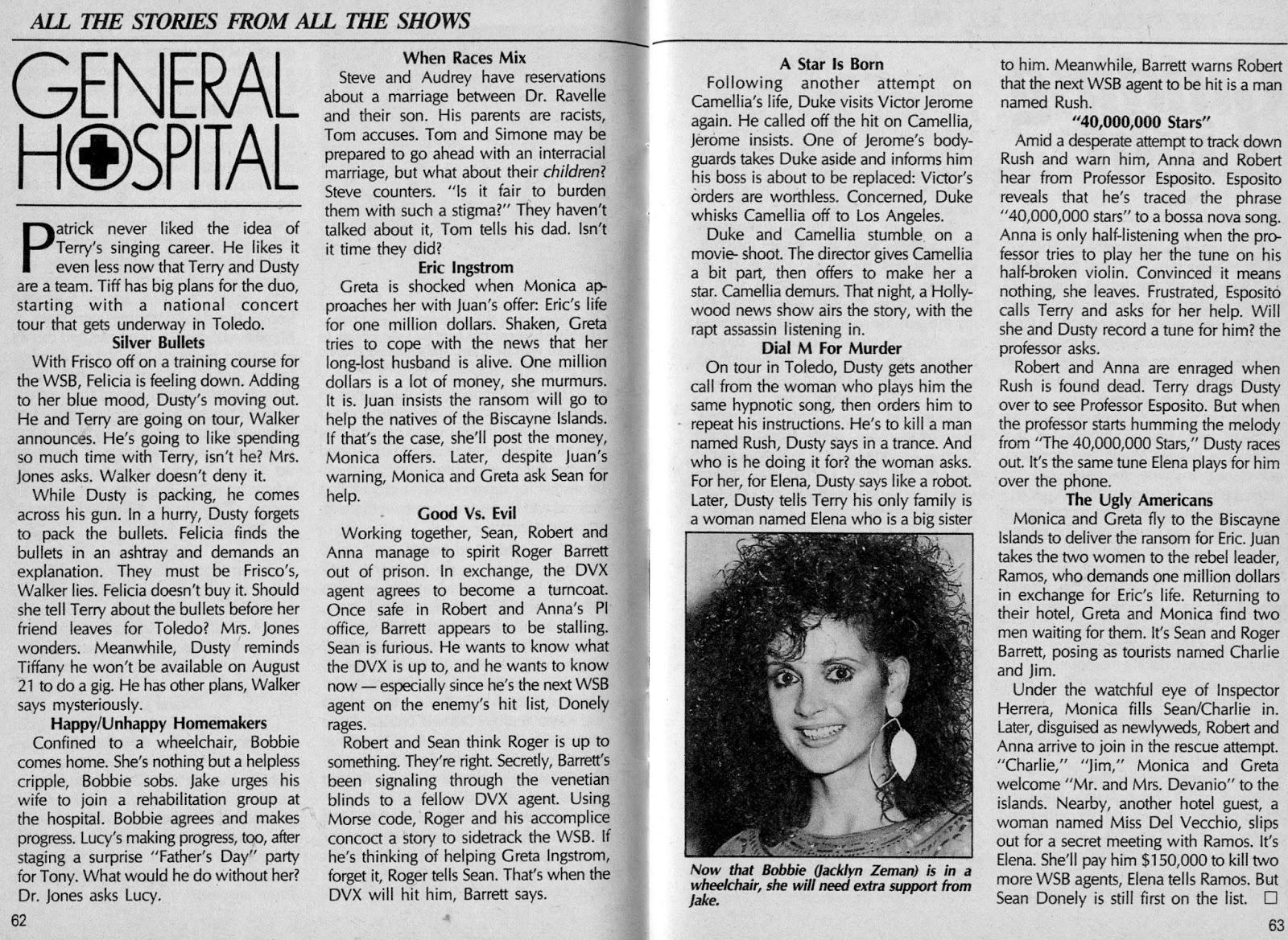 General Hospital Recap-July 28, 1987 (SOD)