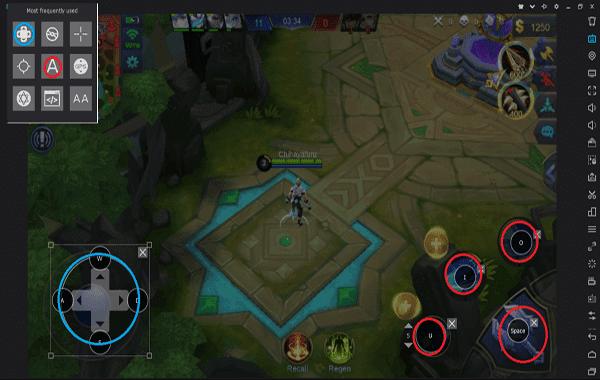 Cara bermain Game Mobile Legend di Laptop dengan Stik