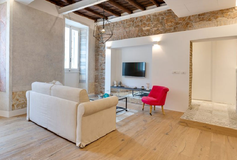 Progetto di restauro e ristrutturazione di un appartamento di 90mq