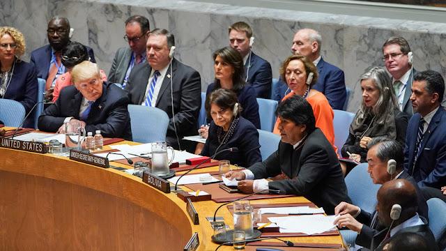 """Evo Morales: """"A EE.UU. no le interesa la democracia. Si así fuera, no amenazaría a Venezuela"""""""