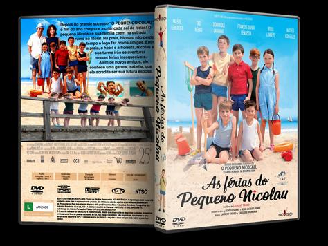 Capa DVD As Férias do Pequeno Nicolau