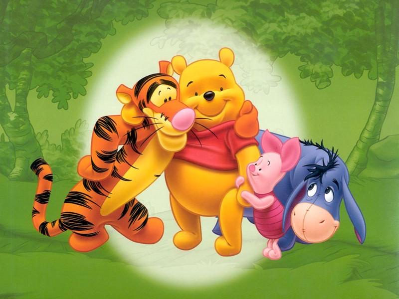 Ls 3d Cartoon Art Wallpaper Cool Images Pooh Bear Cartoon