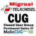 Migrasi CUG SMS Nelpon Telkomsel