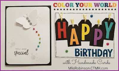 Blog With Friends, a multi-blogger project based post incorporating a theme, Rainbows | Color Your World by Melissa of My Heartfelt Sentiments | Featured on www.BakingInATornado.com