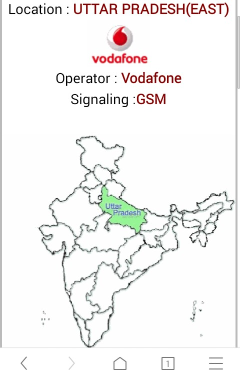 mobile number का location,operator trace करे