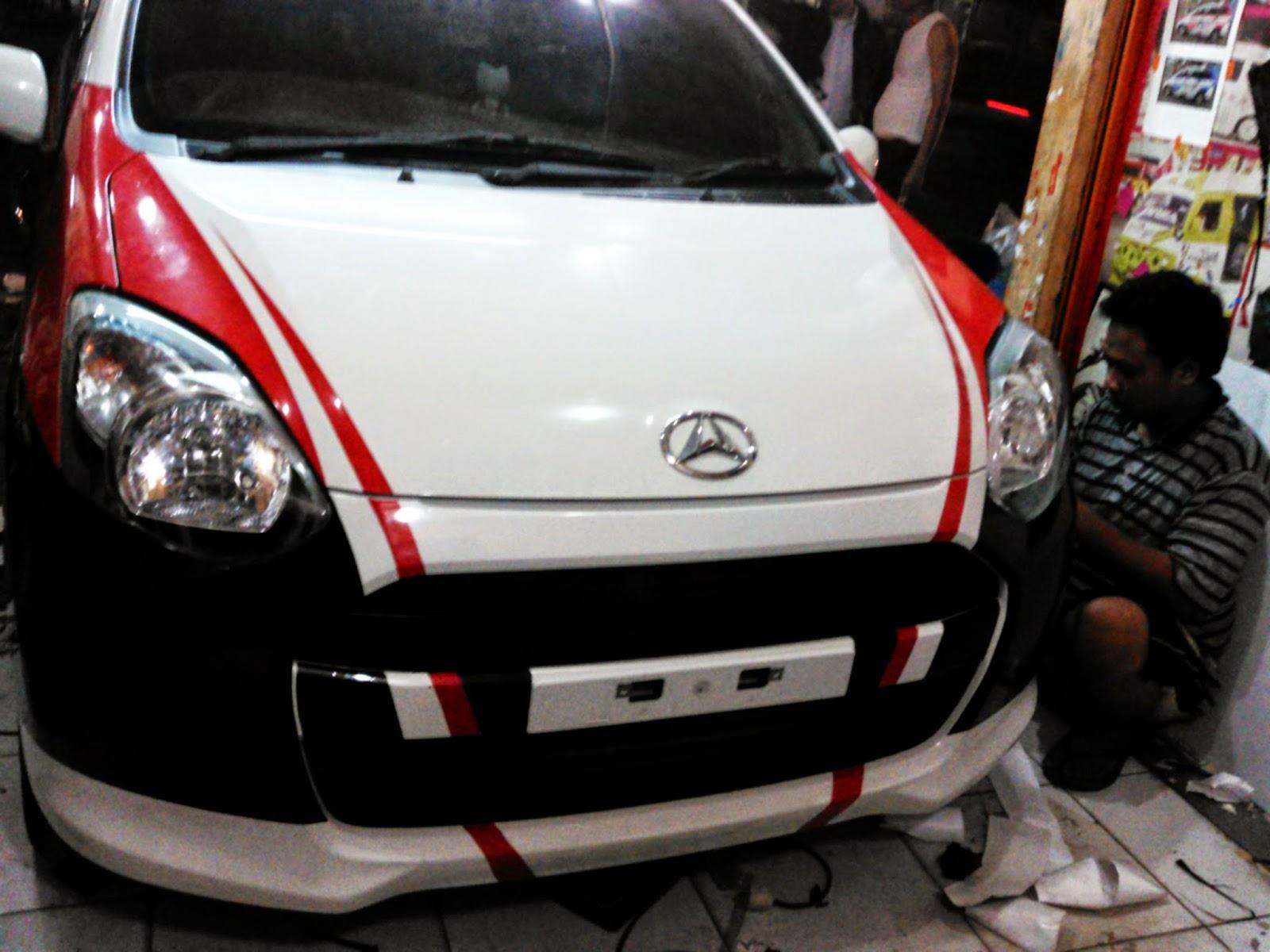 60 Modifikasi Stiker Mobil Ayla Silver Terupdate