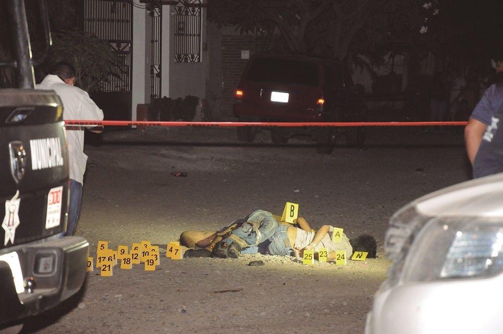 Viernes negro en Sinaloa, siete ejecuciones